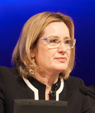 Amber Rudd, Home Secretary