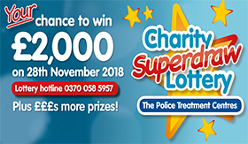 Police Treatment Centre Lottery