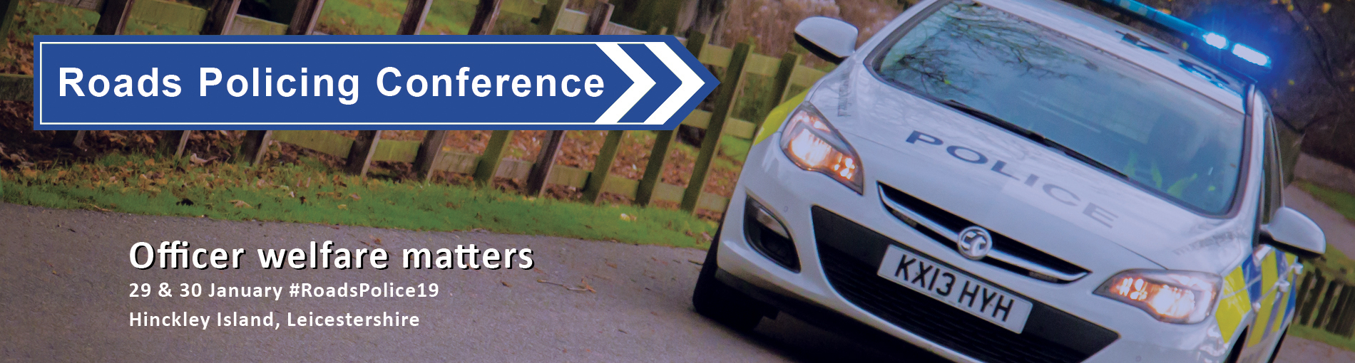 Roads Policing Conference web header