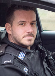 PC James Holden of Hampshire Police