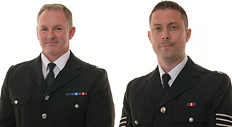 PC Will Murphy and PS Nick Waters