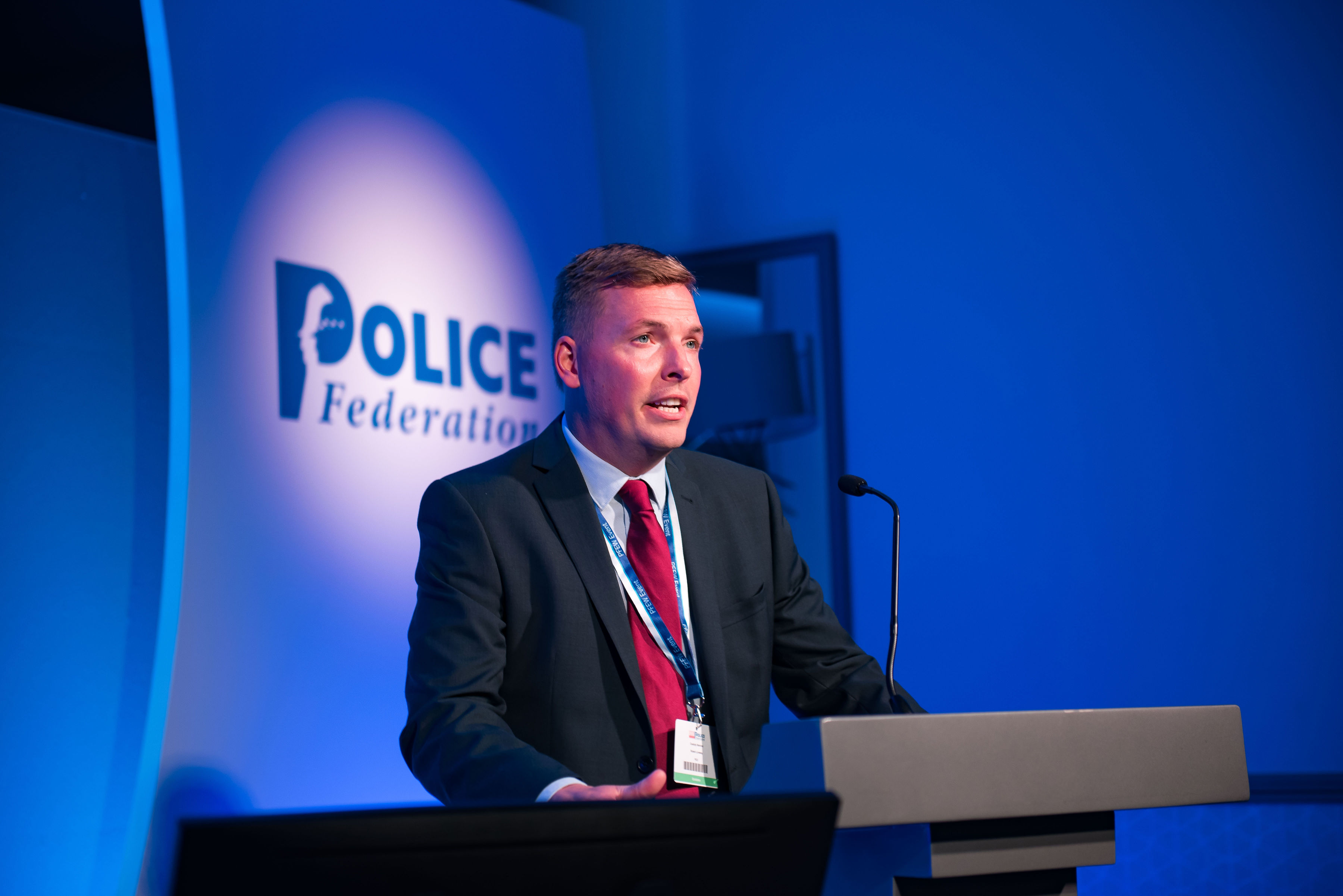 Rob Lovesey, Police Credit Union