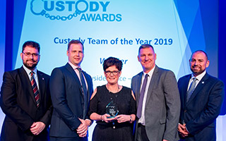 Winner - Custody Team of the Year, Merseyside Police Team 2