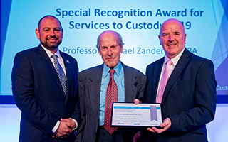 Special recognition award for Professor Michael Zander QC