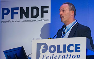 Mick Beattie, National Coordinator for Financial Crime