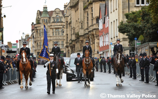 PC Andrew Harpers Funeral
