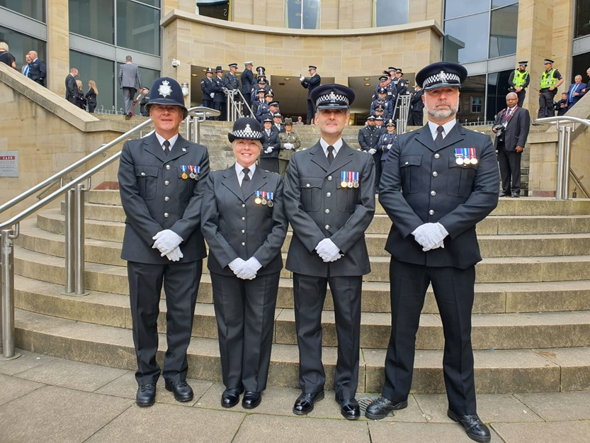 Wiltshire Police Federation Joins The Police Family In Honouring